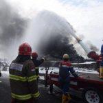 Pertamina Kini Fokus Satu Titik Api Kebakaran Kilang Balongan Sudah Tiga Tangki Padam